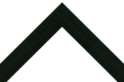 40mm Flat hessian black ( c )