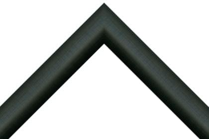 38mm Reverse curve hessian black ( c )