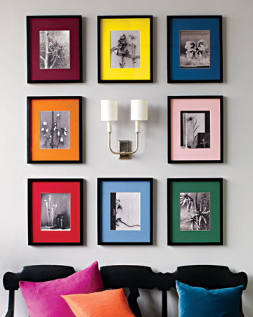 be decorative and protective with picture frame mounts frames