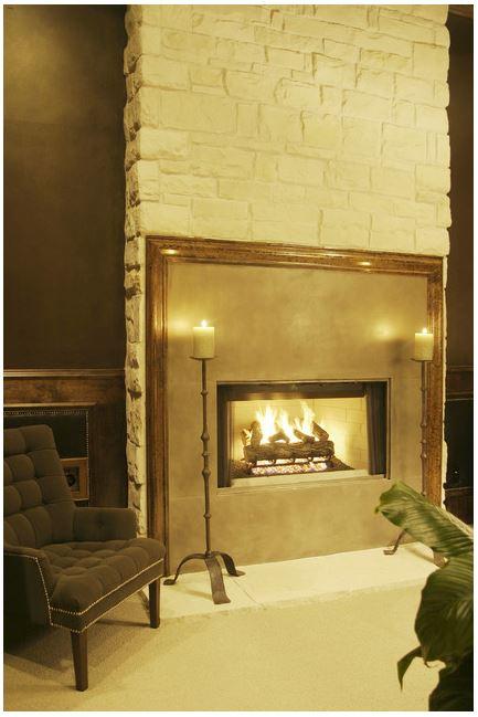 framing fireplace
