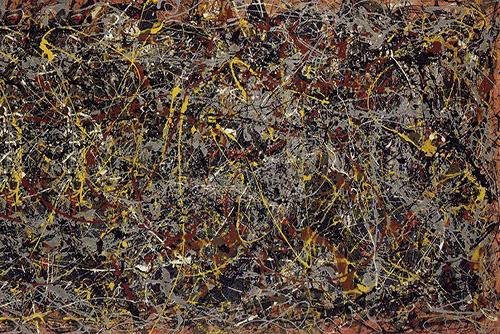 number-5 Jackson Pollock resize