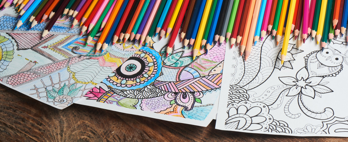 Colouring Creations- You're Never Too Old to Colour
