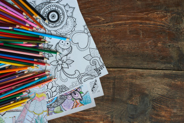 Adult Colouring 5