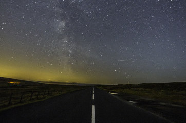 All roads lead to the stars. by Alan Wallace