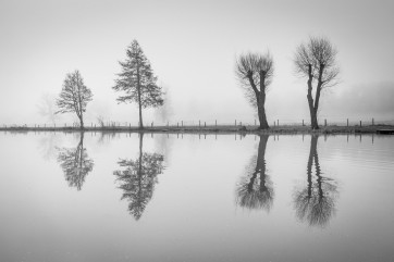 Castle Ashby Lakes, Northamptonshire by James Trusler