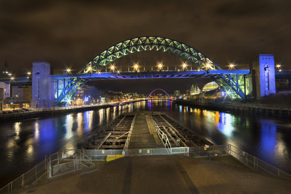 Tyne Bridge taken by Bob Riach