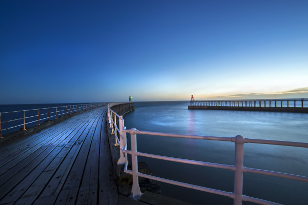 Whitby Pier taken by Bob Riach