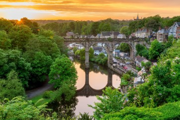Knaresborough North Yorkshire by Mike Morley