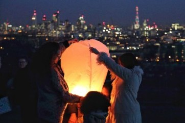 Lantern over the city