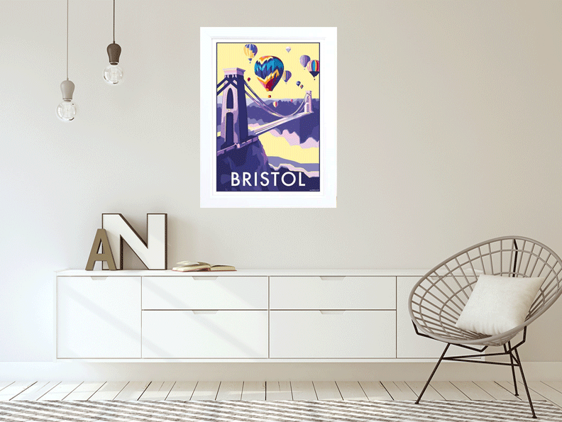 Bristol travel poster