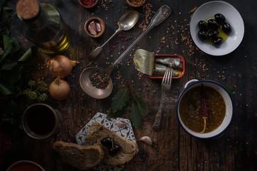 Lentils Soup by Elena Konstantinidou