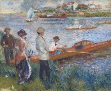 Pierre- Auguste Renoir, Oarsmen at Chatou, 1879