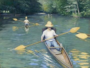 Gustave Caillebotte, Skiffs 1877