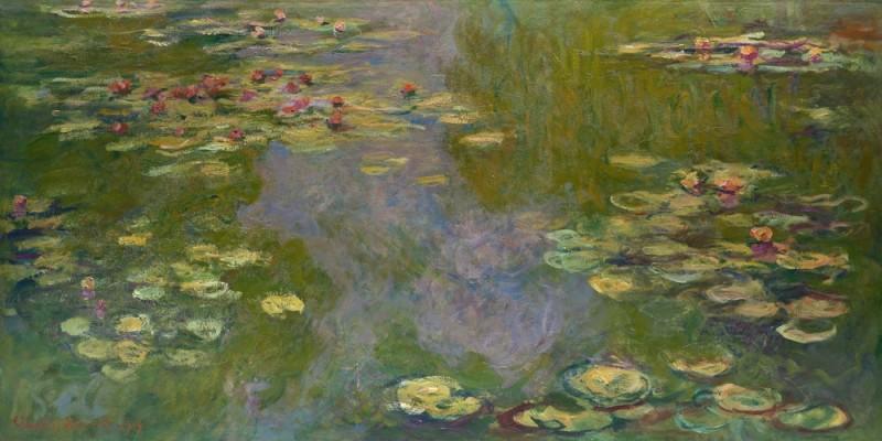 Claude Monet, Water Lillies, 1916