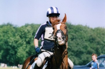 Zara Tindall competing in an Equestrian show by Paul Ratcliffe