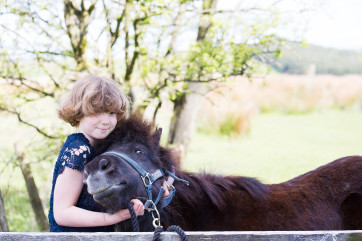 A pony's smile by Wendy Gradwell