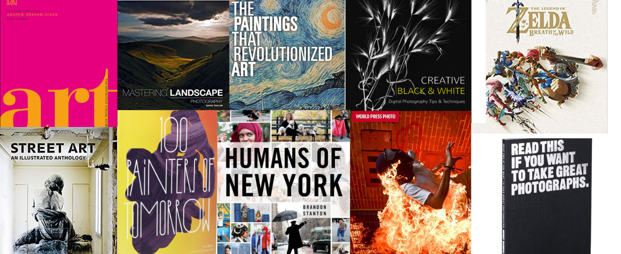 Our Pick of Photography & Art Books For Creative Inspiration