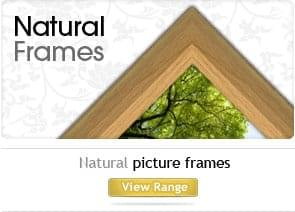 Natural Wooden picture frames