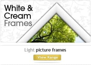 White & Cream picture frames