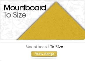 Mountboard picture frame supplies