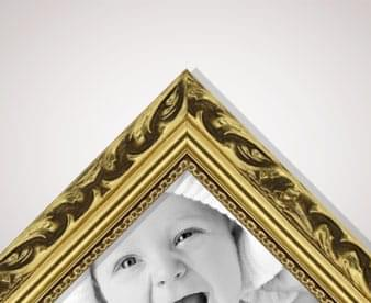 Gold picture frame supplies